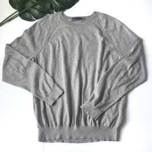Vince sweater men's size L with elbow patch design